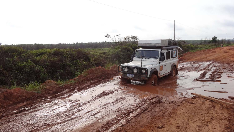 muddy bits