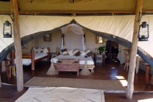 our beautiful room at Makena Hills, it also came with stunning views of Lake Baringo in the distance