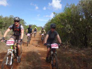 easy cruisin' on day one - Jon, Hafiz, Eric, James and Helen