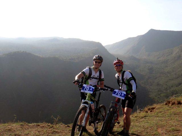 Riding our bikes to the Masai Mara