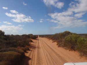 the road to the old homesteadhas a few corrugations