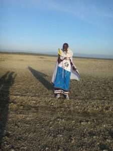 beautifully dressed Maasai ladies were the course marshalls, making sure we stayed on the right path
