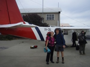 about to board to Melaleuca