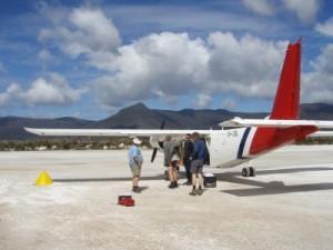 landing strip at Melaleuca