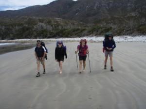 easy beach hiking