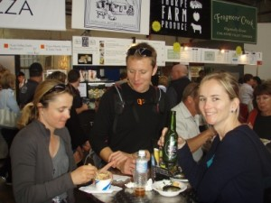 back at the Taste Festival in Hobart we meet up with Marcus & Mel