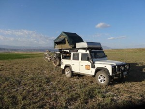 We loved the camp sites in the middle of nowhere. Another beauty near Taraz (Kazakhstan).