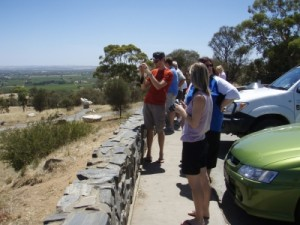 sightseeing in the Barossa Valley - art