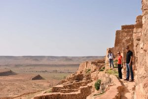 stunning view from the ksar