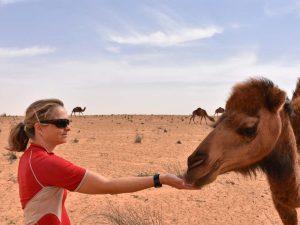 Jude the camel whisperer