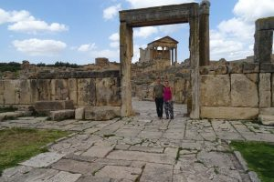 Jon and Jude in Dougga