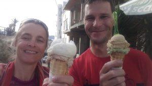 we find some delicious local icecream