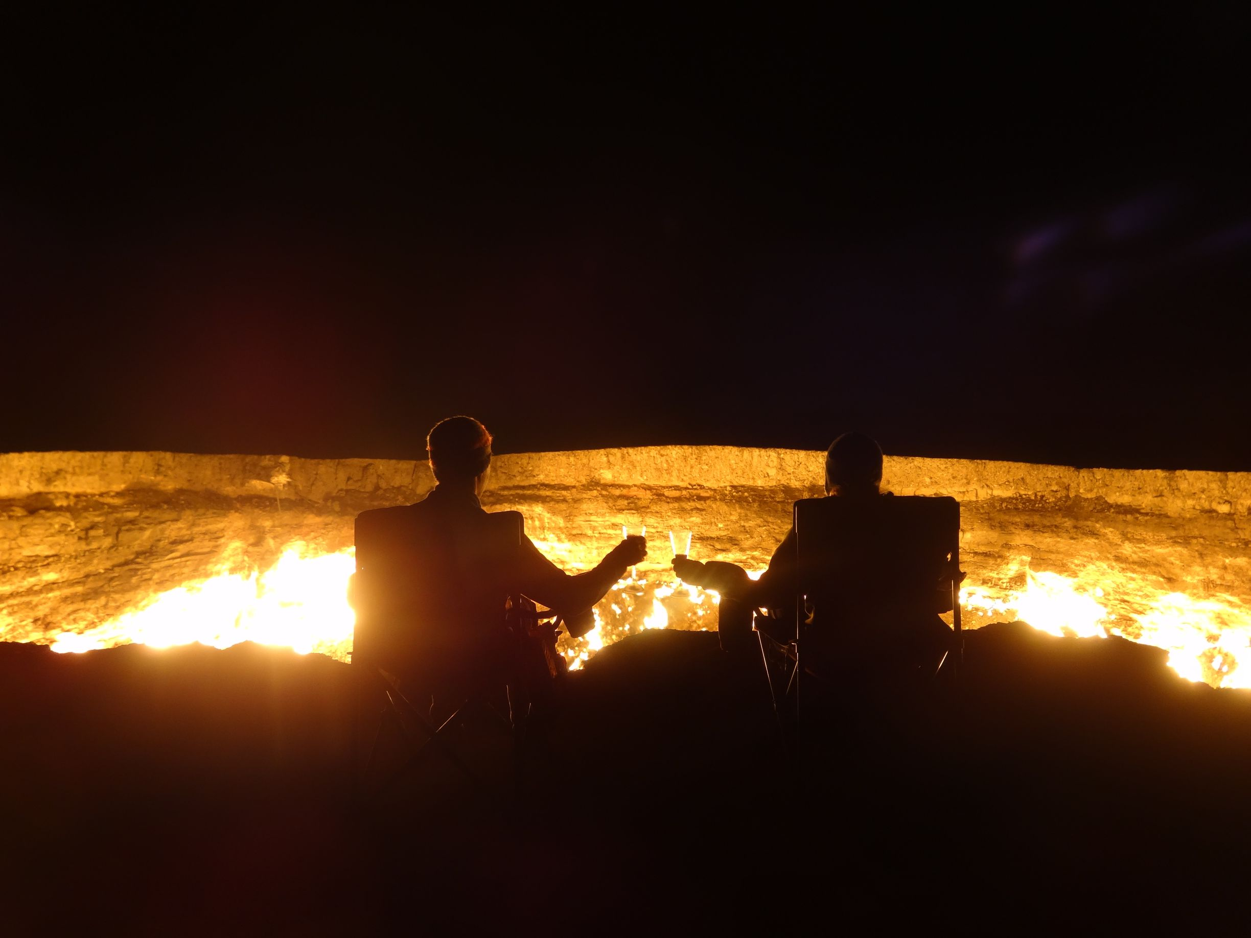 the biggest campfire