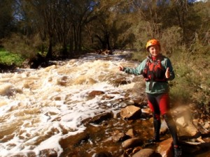Syd's rapids - survived this time (read the Avon Descent 2009 story to see what happens here then)