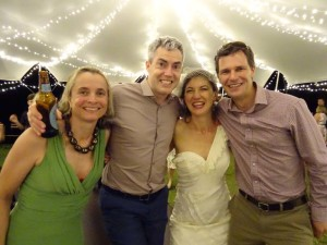 Jude, Jonno, Angie and Jon - may we have many more wonderful adventures together!