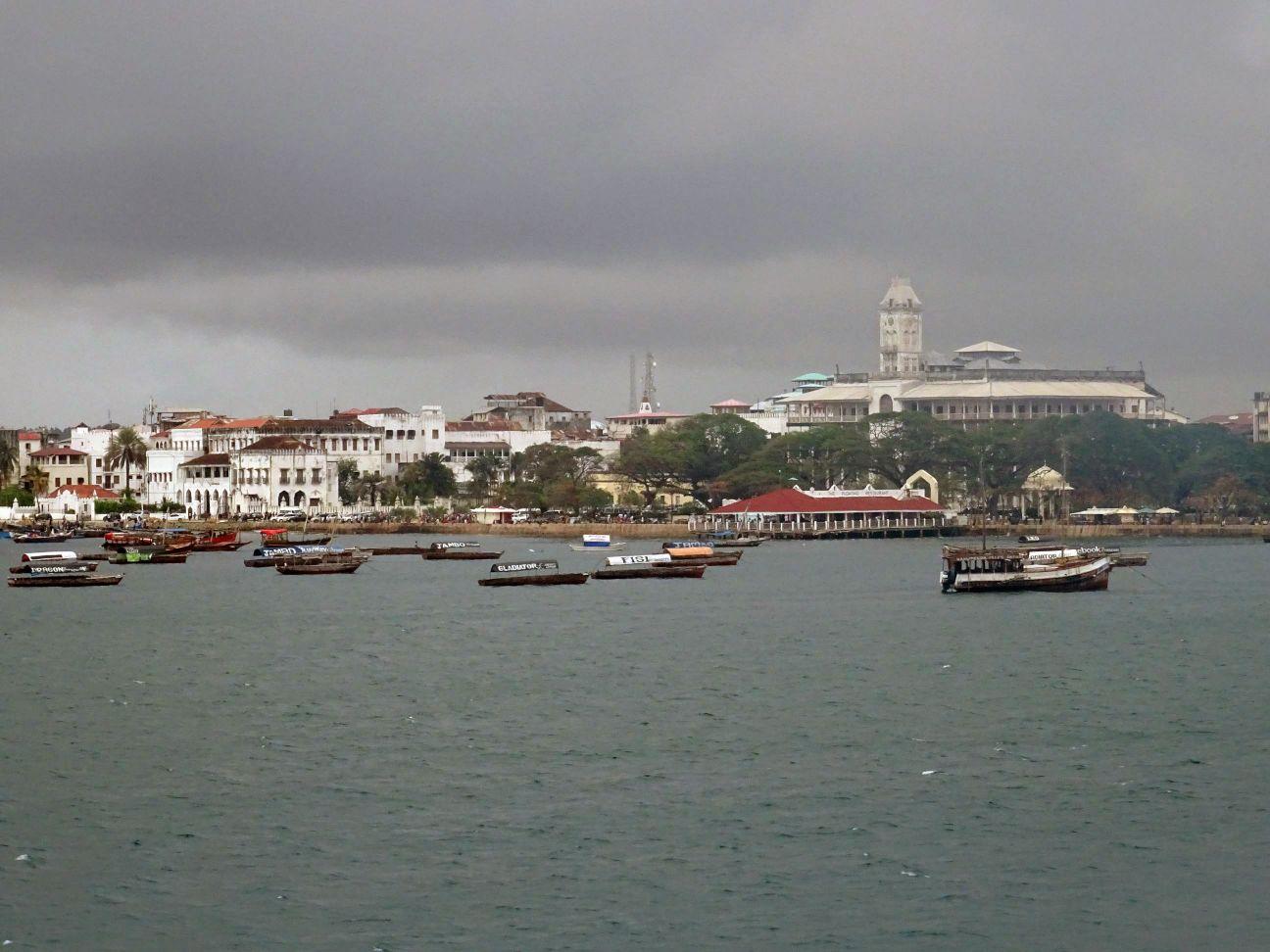 arrival at Stonetown, Zanzibar