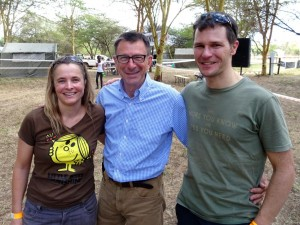 Jude, Paul Sherwen and Jon