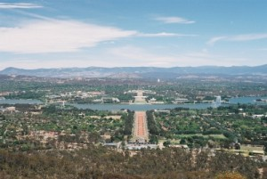 we fly to Canberra and drive from there with our rental van
