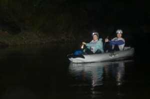 kayak at night