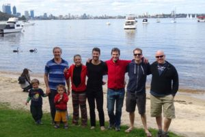some of the peeps at the Matilda Bay picnic