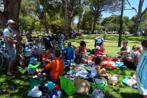 our almost annual picnic at Matilda Bay, thanks everyone for making the effort to come again!