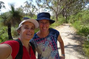 Jude and Kat manage to squeeze in a hike in Yanchep NP