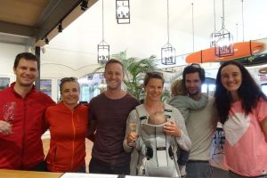 Nick and Annamaria are in Oz too, we catch up with them and Si and Jo who are also visiting them