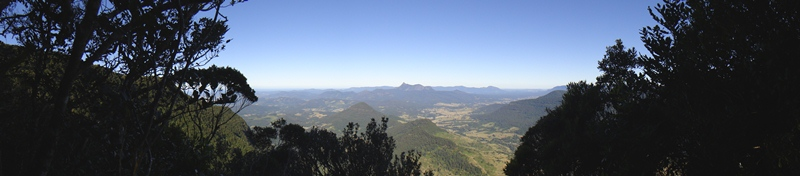 view into NSW from the Dacelo Lookout