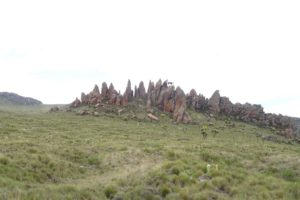 we pass the aptly named dragon's teeth