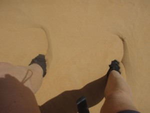 this is what happens when you go hiking in the world's biggest sand dunes...