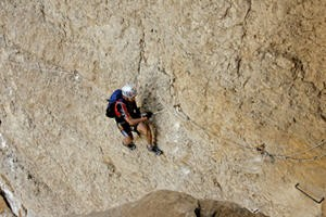 followed by a fantastic via-ferrata section