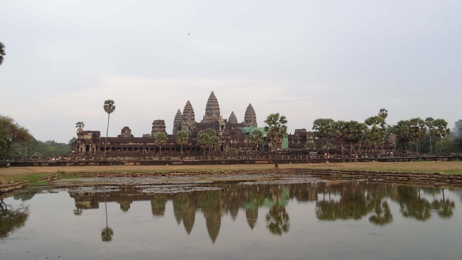 Angkor Wat - the postcard