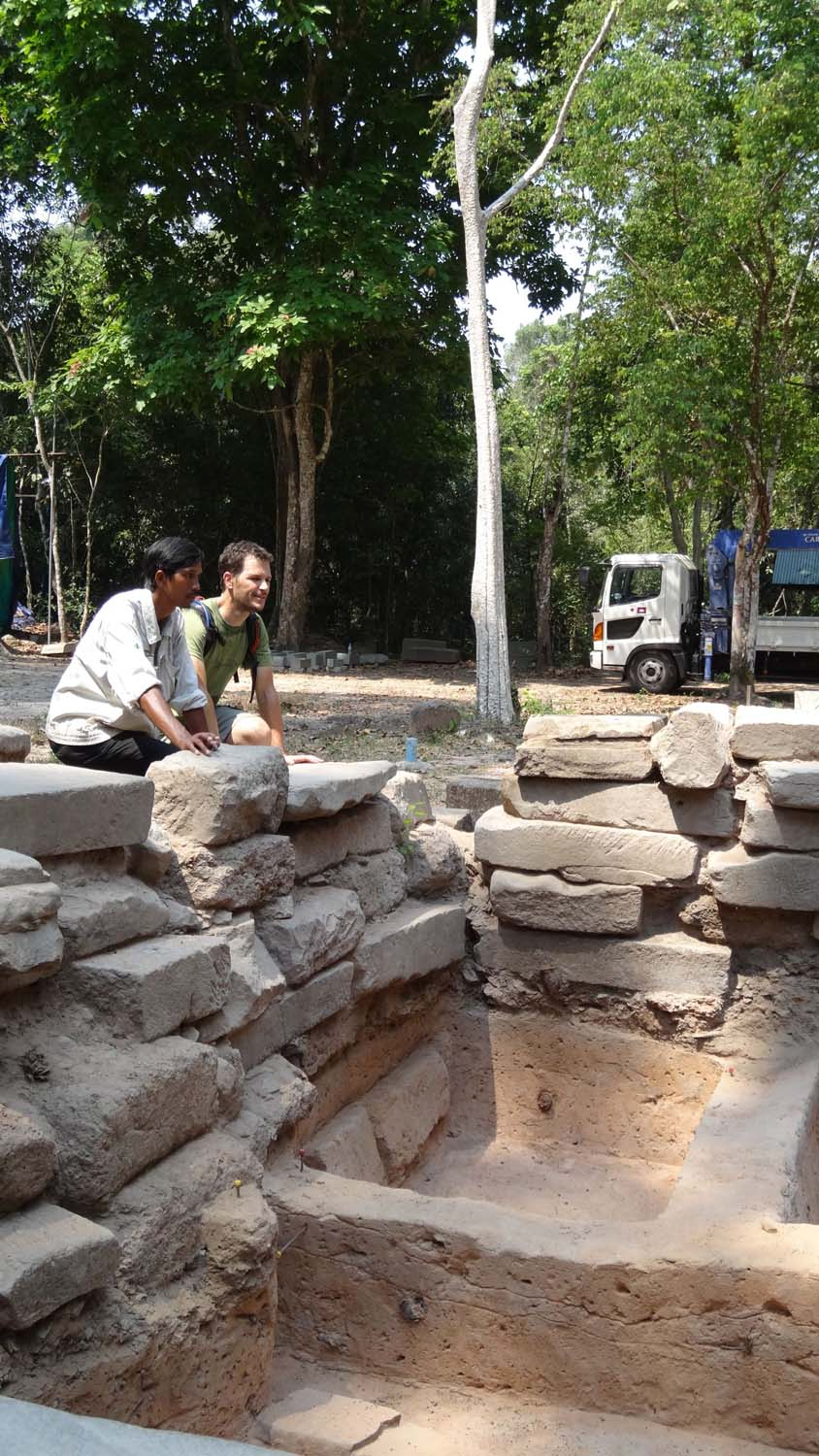 crash course in restoring Angkorian temples