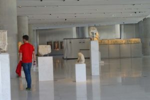 Jon explores the Acropolis museum