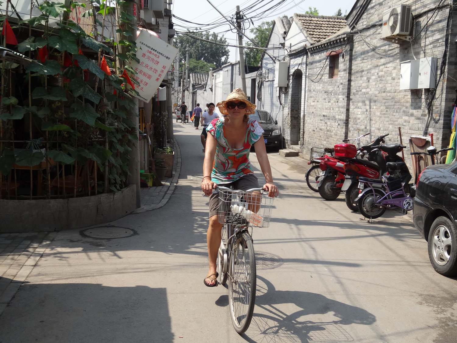 we love having our bikes with us, exploring Beijing with them was great.