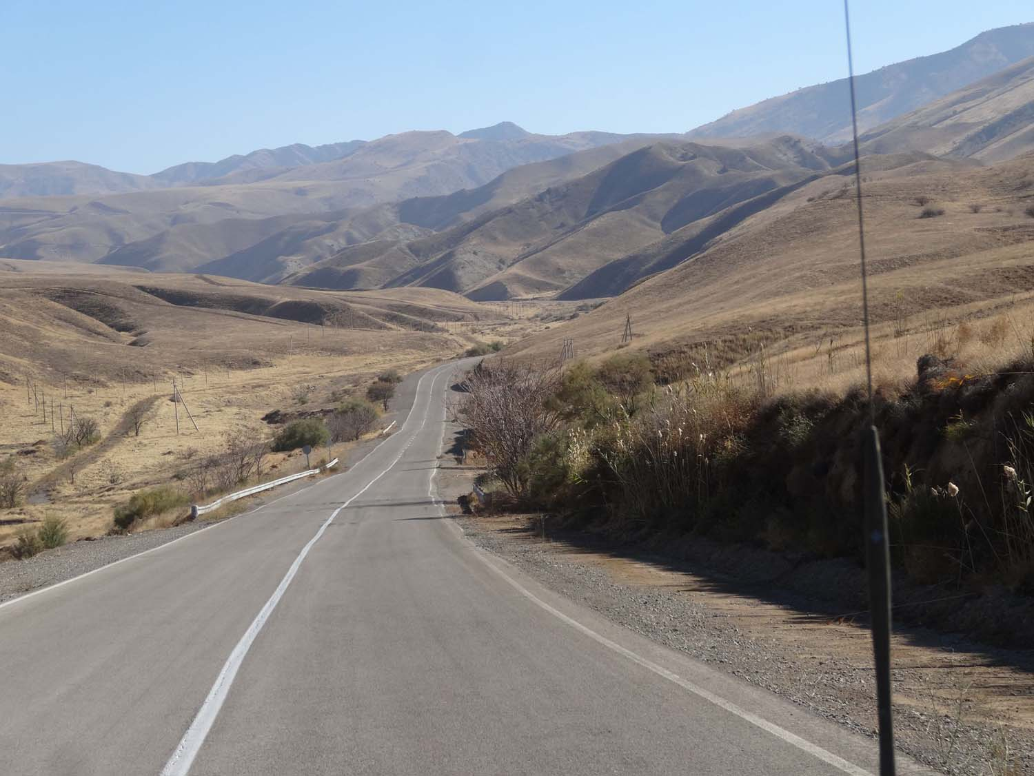 the long road to the actual border control