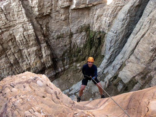 Canyoning in Jordan