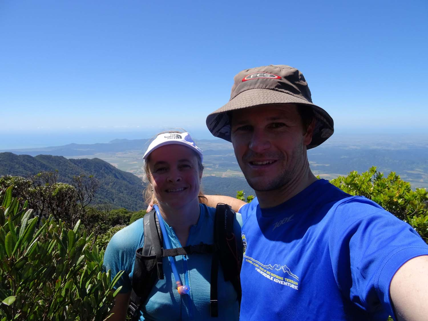 a quick hike to the top of Queensland's tallest mountain - Bartle Frere at 1622m