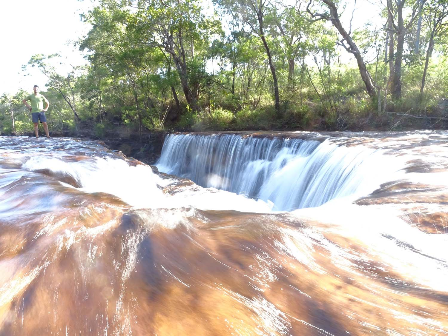 stunning Elliott Falls - another great spot for a swim and not have to worry about crocs too much...