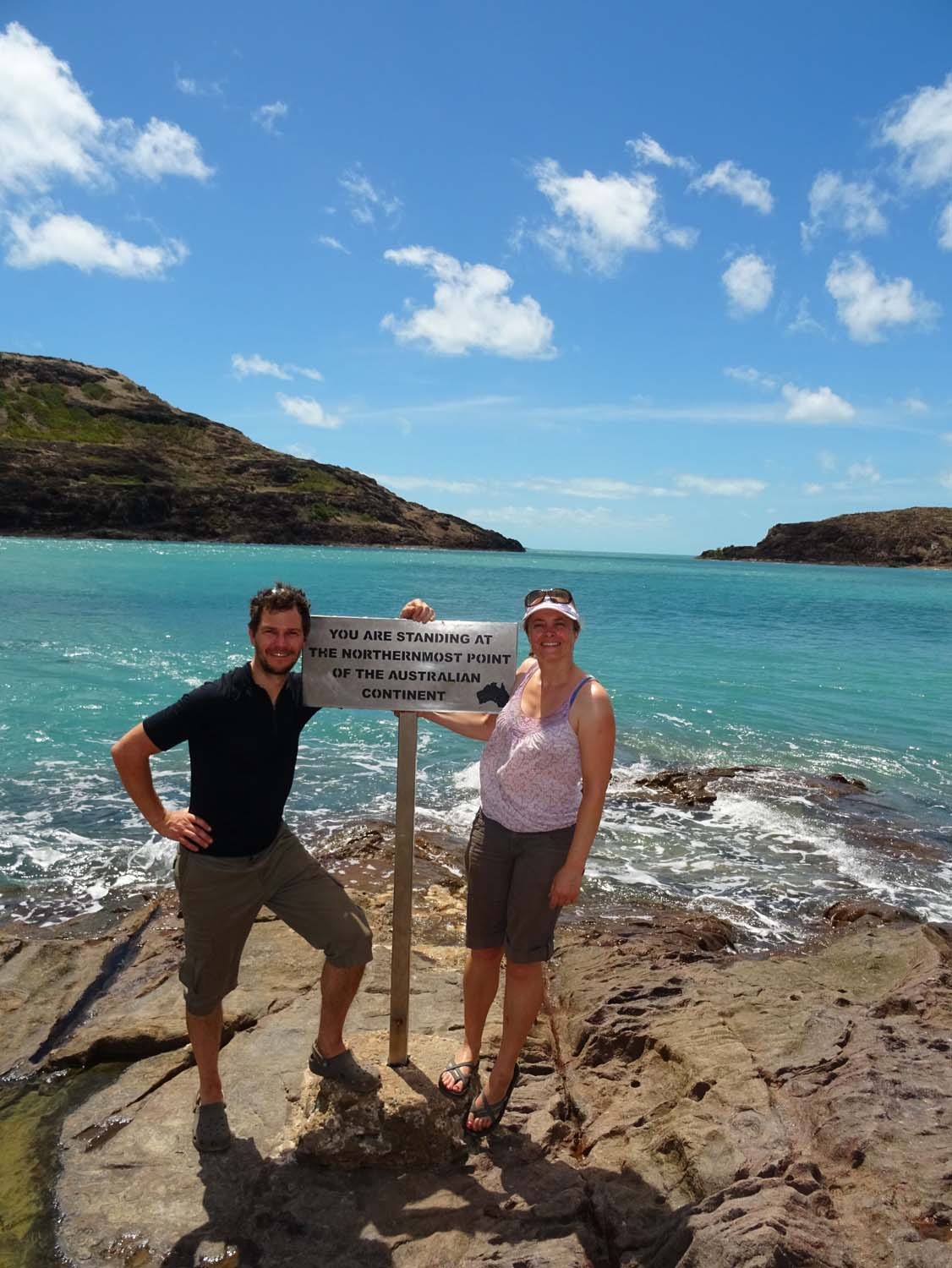 we make it to the Tip, Australia's most northerly point on the main land