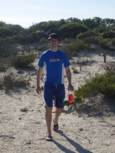 Jon in the dunes