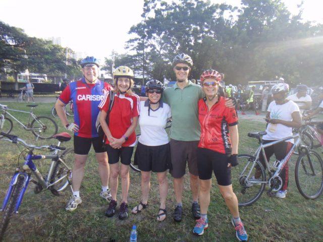 The cycle caravan
