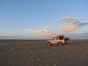 The beautiful empty horizons of Mongolia, this is near Dalanzadgad.