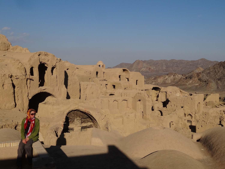 Kharanaq, an amazing mud village