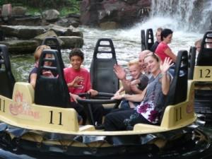 we all got a bit wet in the Piranha