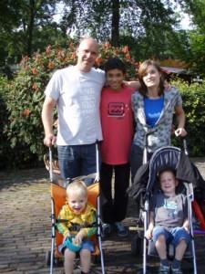 Sandra, Peter, Jessie, Niels and Jens