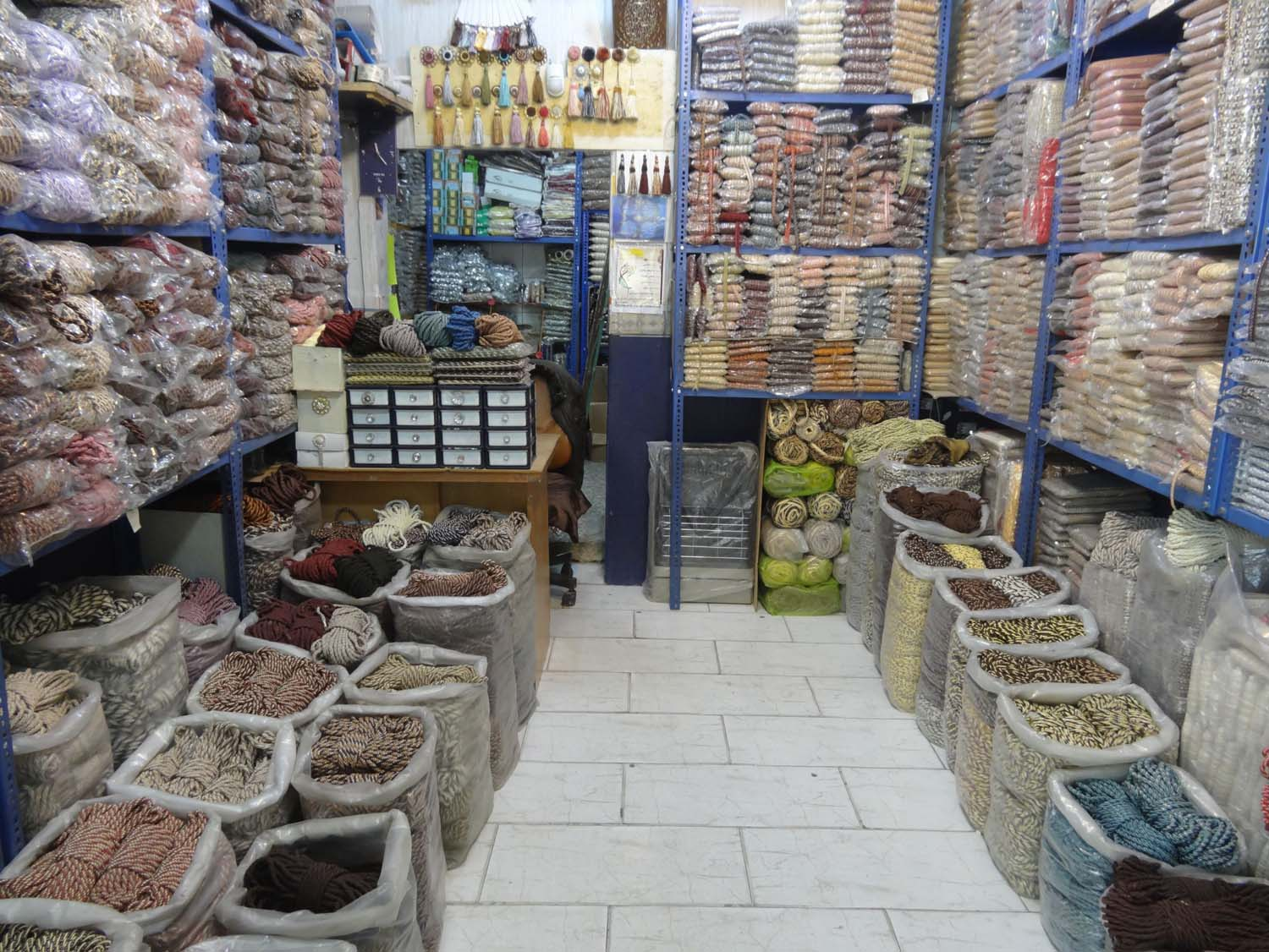 this shop only sells rope, it looked beautiful