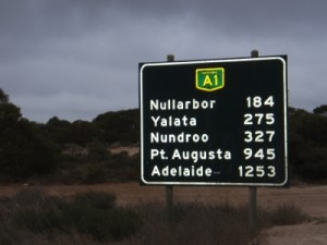 only 1253km left until we are in Adelaide