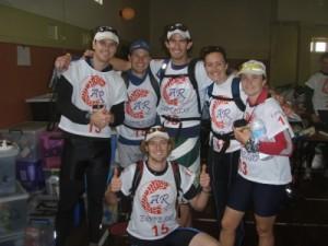 team Woop Woop (Pete, Joe, Jon and Jo) and Troye and Jude