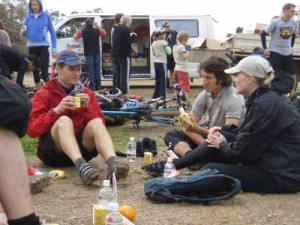 great food, we meet the guy who writes for the mtb magazine